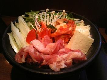 庄やのキムチ鍋