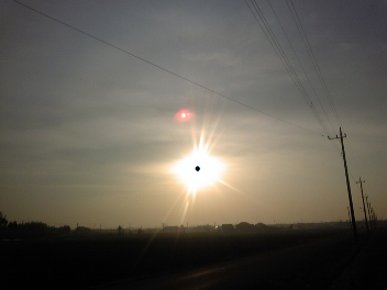 ラマダンの朝ufoに遭遇