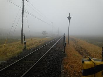 千葉県地方は、すんごい霧だ!