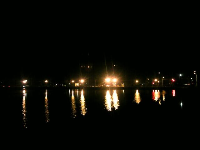 ♪夜の海〜
