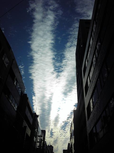 ♪あーあ〜雲の流れのように〜