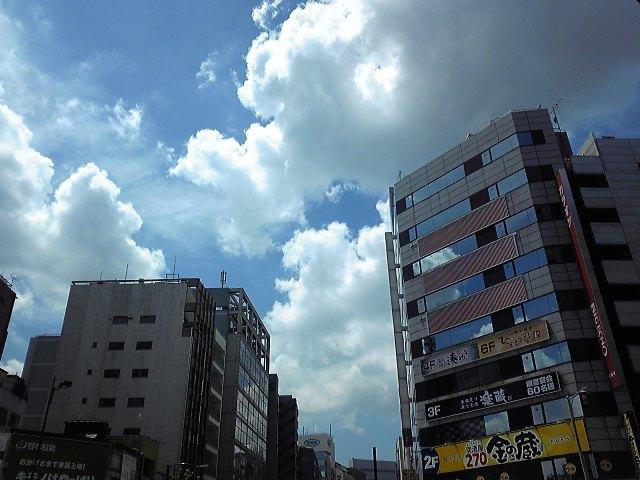 日本の夏、人形町も夏